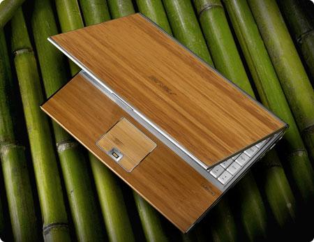 Notebook de Bamboo da ASUS